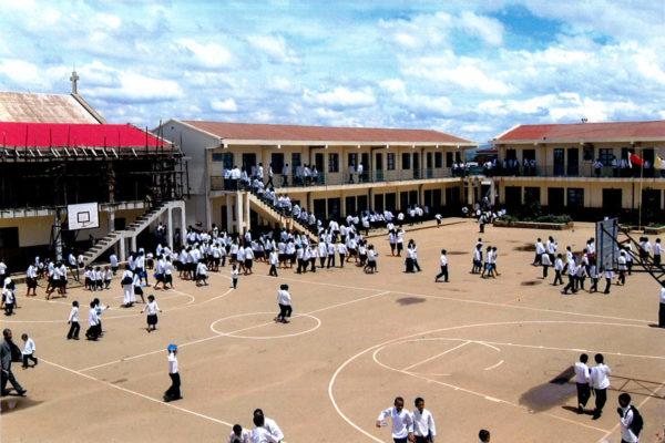 Avancée des travaux à l'école Sainte-Thérèse d'Antsirabe (Madagascar)