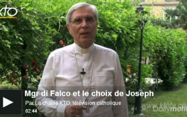 Joseph n'est plus séminariste
