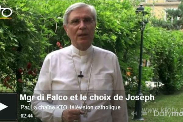 Le choix de Joseph – la chronique de Mgr Jean-Michel di Falco Léandri sur KTO