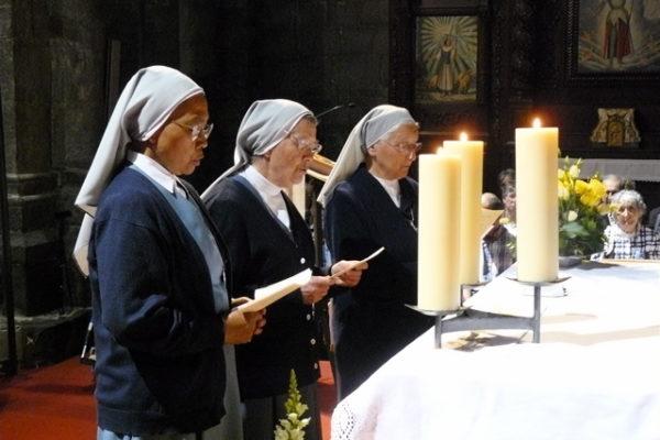 Les 350 ans des soeurs trinitaires fêtés à Embrun