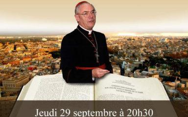 """""""Découvrir le Concile Vatican II"""" : conférence du Cardinal Paul Poupard à Gap"""
