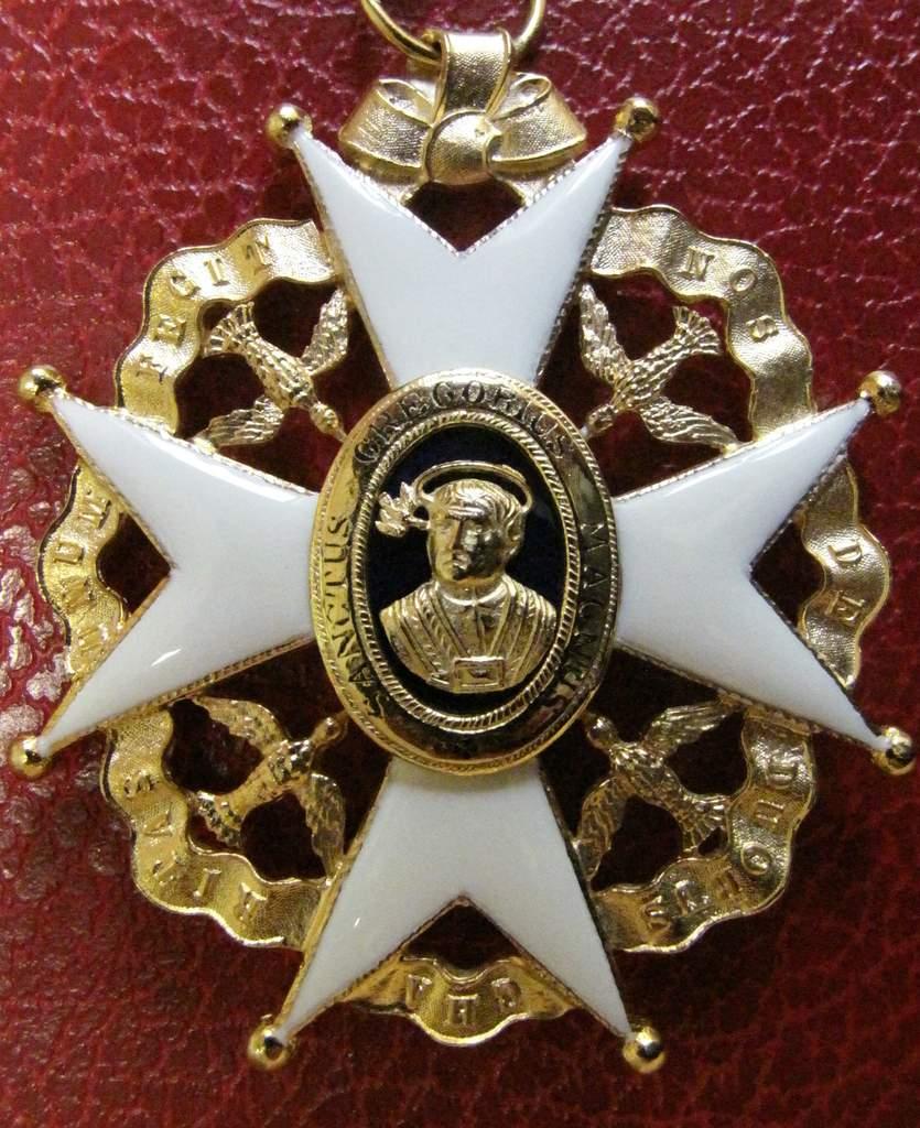 Médaille - Saint Grégoire le Grand