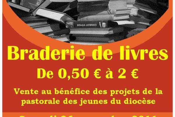 Des livres en vente au profit de la Pastorale des Jeunes !