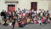 90 enfants de la paroisse Saint-Arnoux du Gapençais à la découverte de Mont-Dauphin