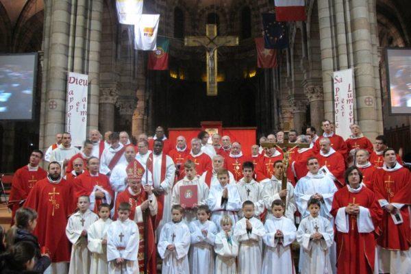Ordination d'Éric Blanchard : « Le prêtre est le messager de l'Amour »