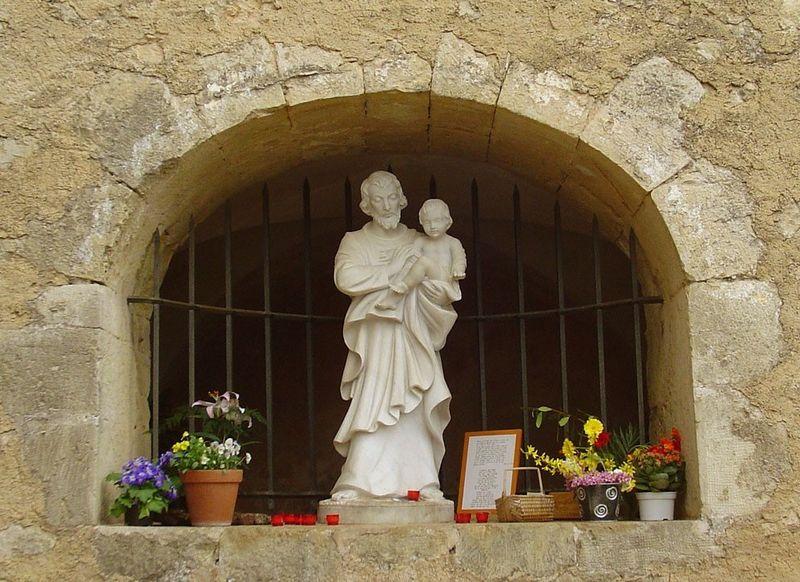 Les apparitions de saint Joseph à Cotignac Stjoseph