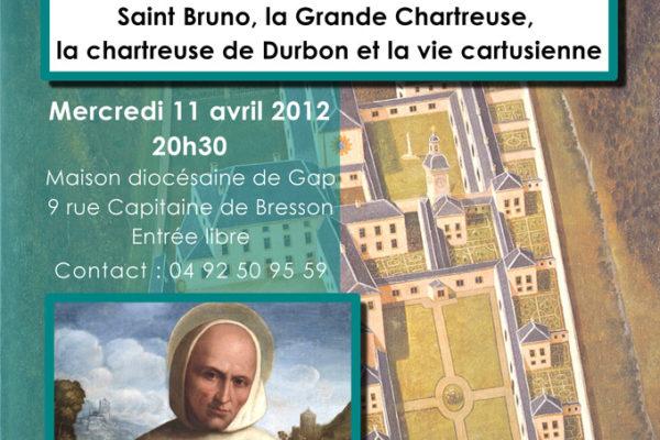 Saint Bruno et les chartreux : conférence de Thierry Paillard