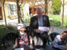 Des enfants du KT visitent la Maison épiscopale et rencontrent Mgr Jean-Michel di Falco Léandri