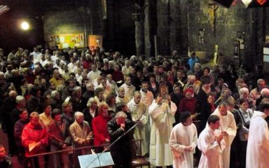 Retour sur la messe chrismale à Embrun