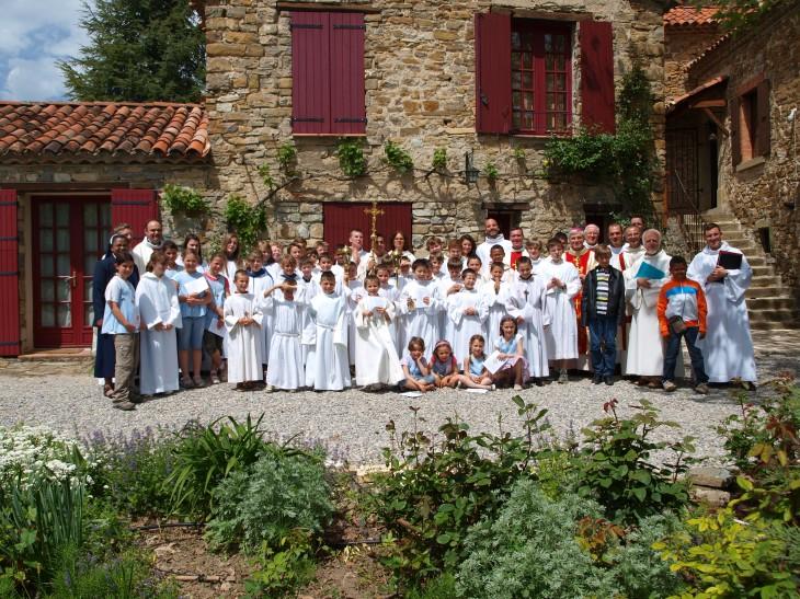 Journée diocésaine des enfants de choeur à Rosans