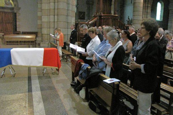 Les funérailles du chanoine Joseph Dixneuf