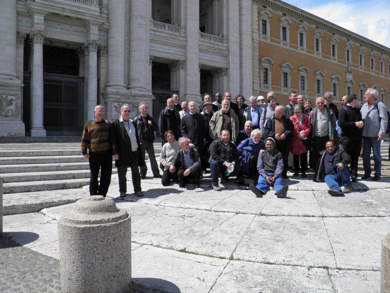 Pèlerinage des prêtres, diacres et séminaristes à Rome