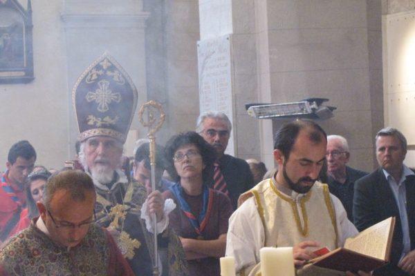 Pèlerinage des Arméniens à Tallard