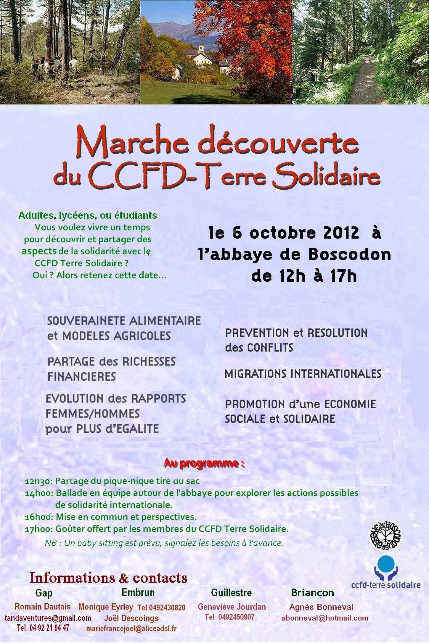 À la découverte du CCFD-Terre Solidaire