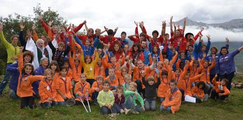 Scouts et Guides de France : Une rentrée bien arrosée !
