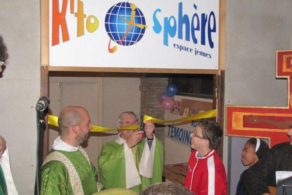 La nouvelle K'to Sphère inaugurée par Mgr Jean-Michel di Falco Léandri