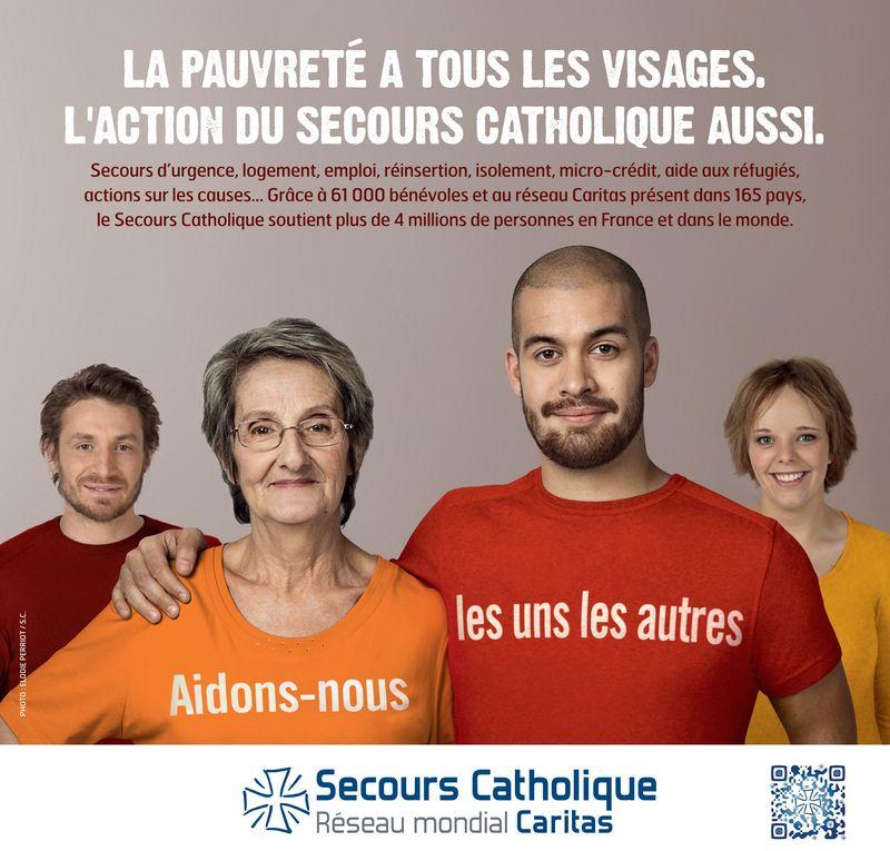 Collecte nationale du Secours catholique
