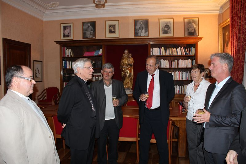 Dîner de maires à la Maison épiscopale