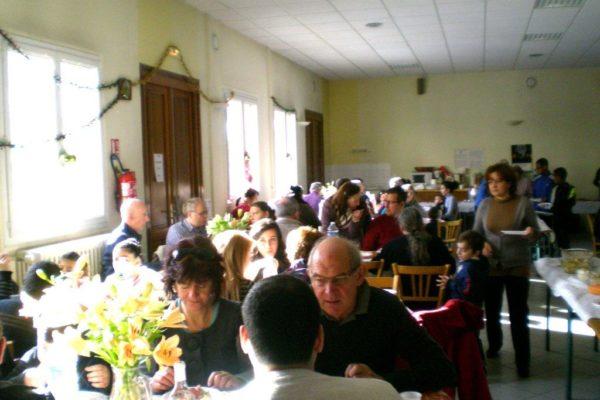 Repas de Noël du Secours catholique