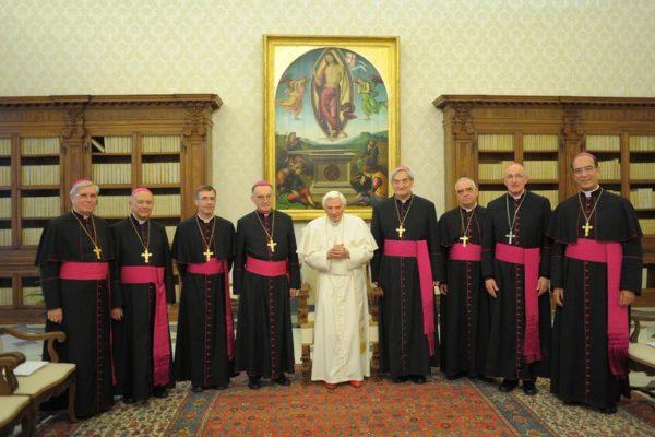 Rencontre du pape avec les évêques du Sud-Est de la France : « Dieu est amour, il veut le bonheur de tous ses enfants »