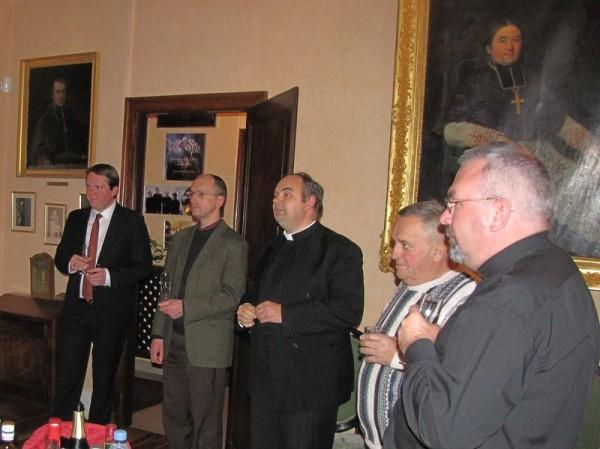 Les maires du Rosanais reçus à la Maison épiscopale