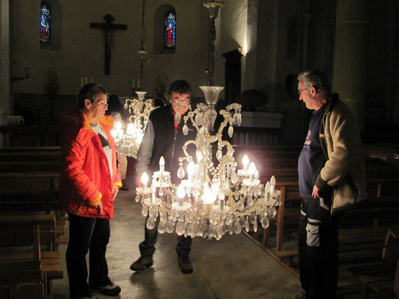 Mgr Jean-Michel di Falco Léandri à la rencontre des paroissiens de Rosans