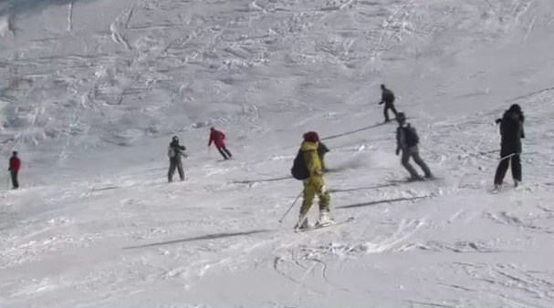 Ski et prière pour les pèlerins de la neige