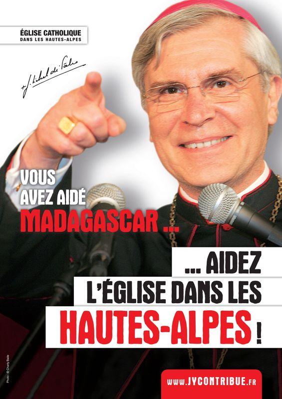 """Le groupe """"Les Prêtres"""" au service du Denier de l'Église pour leur diocèse"""