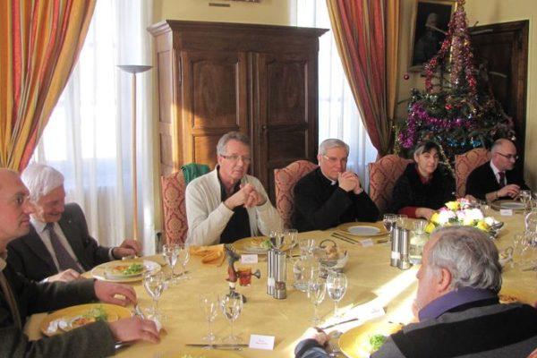 Les maires du Guillestrois reçus à la Maison épiscopale