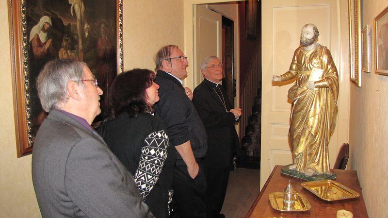 Des maires de la Durance reçus à la Maison épiscopale