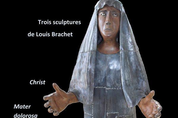 Exposition de sculptures en fer forgé de Louis Brachet en la cathédrale de Gap