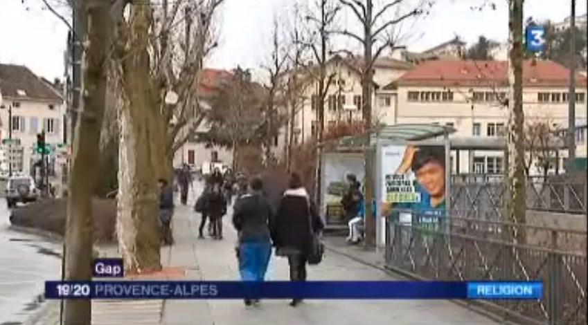 La campagne pour le Denier des Hautes-Alpes de passage sur France 3