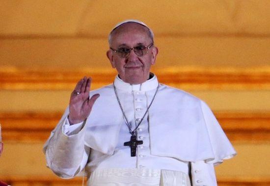 Première réaction de Mgr Jean-Michel di Falco Léandri à l'annonce de l'élection du pape François