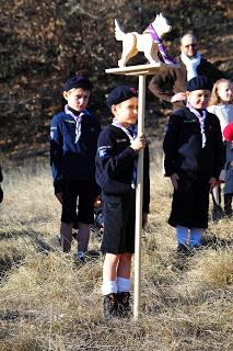 You are currently viewing La Pentecôte au Laus en présence de 600 enfants de 8 à 12 ans