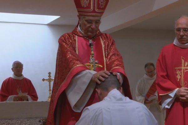 Ordination diaconale de Mickaël Fontaine : « Il n'y a pas d'étrangers dans l'Église »