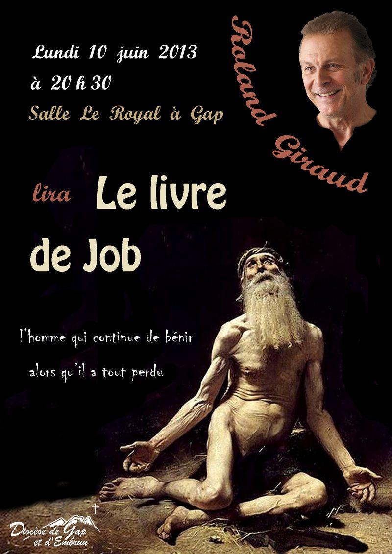Mgr Jean-Michel di Falco Léandri invite Roland Giraud à lire le livre de Job