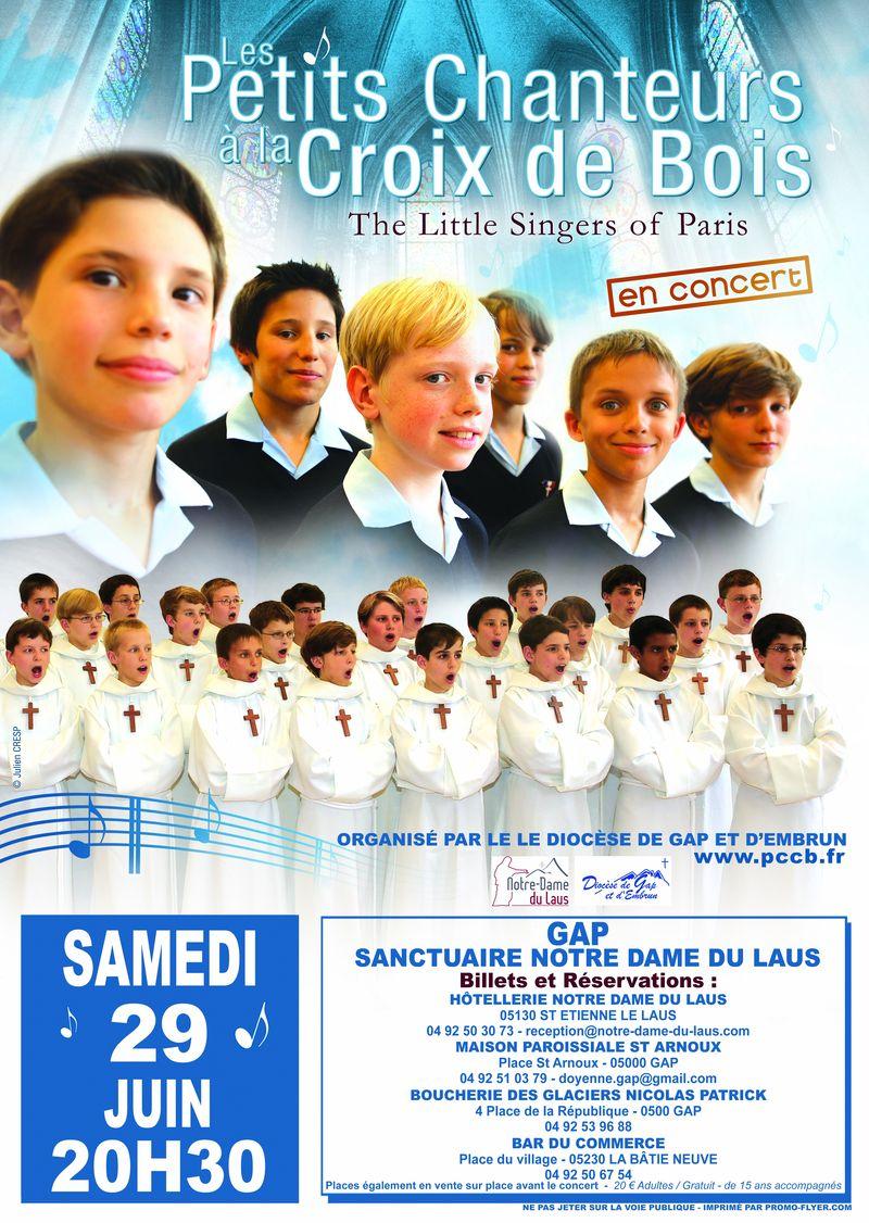 Concert au sanctuaire Notre-Dame du Laus