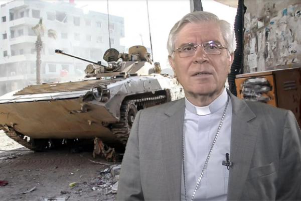 La chronique de Mgr Jean-Michel di Falco Léandri –  En Syrie, peut-on voir la paix jaillir au dehors de la croix ?