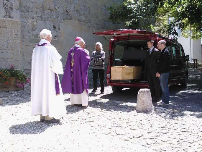 """Obsèques de Sœur Jeanne Marie : """"Je pense la mort comme une rencontre, la plus belle de ma vie."""""""