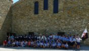 Visite de jeunes à Rosans en la fête de Saint Benoît, patron de l'Europe, et visite de la nouvelle mosquée de Gap