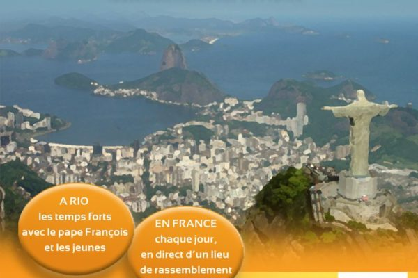 Programme JMJ sur RCF Alpes-Provence