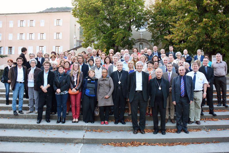 90 chefs d'établissements catholiques d'enseignement à Notre-Dame du Laus