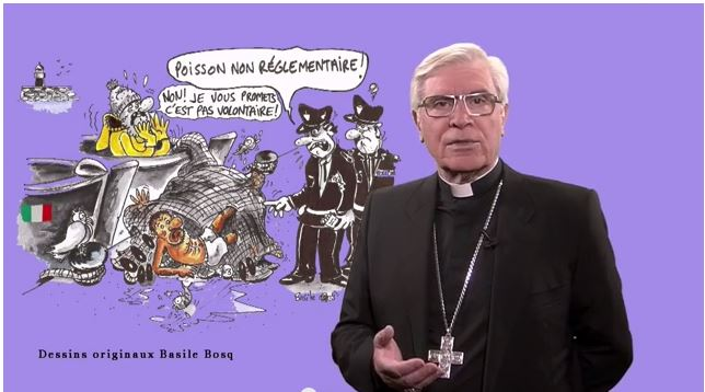 La chronique de Mgr Jean-Michel di Falco Léandri –  Les sans-papiers ont-ils une âme ?