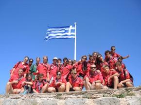 Les Pionniers et Caravelles de Gap en Grèce