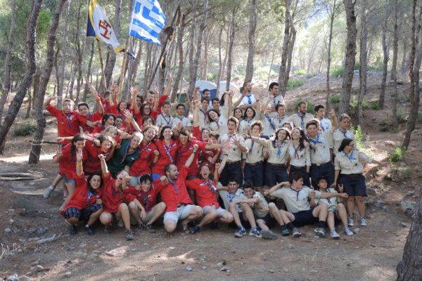 CAP EuroCitoyen en Grèce pour les Pionniers et Caravelles des Scouts et Guides de France de Gap