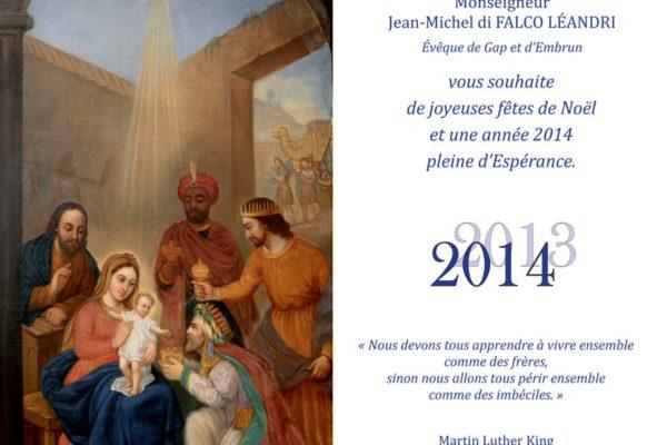 Vœux de Mgr Jean-Michel di Falco Léandri