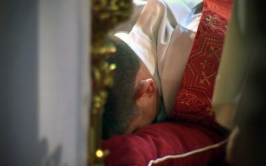 Photos de l'ordination presbytérale de Mickaël Fontaine