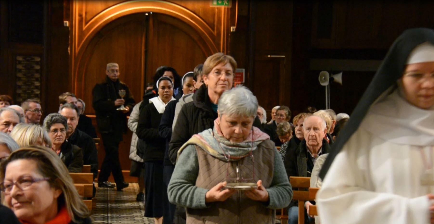 Les vœux au sanctuaire notre-Dame du Laus avec présentation du programme de l'année jubilaire ( de mai 2014 à mai 2015 )