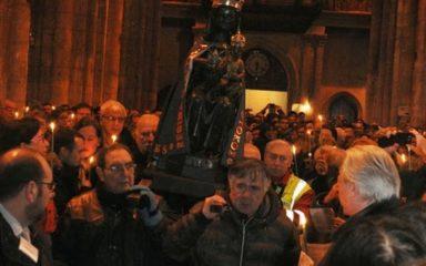 Les jeunes du diocèse de Gap et d'Embrun à Marseille pour la Chandeleur
