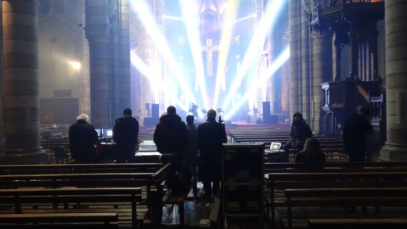 """Derniers préparatifs pour les concerts des """"Prêtres"""" à Gap – Retransmission en direct sur RCF"""